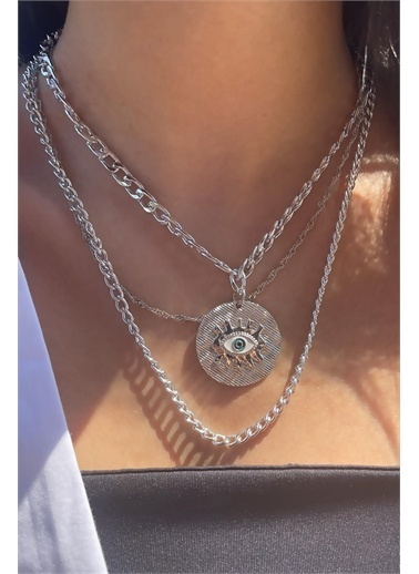 Takı Sepeti Bijuteri Kolye Gümüş